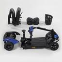 Afbeelding van Mobiliteit, Scootmobiel, Invacare, model Colibri, mobiele demontabele scooter