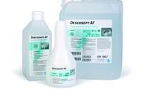 Desinfectiemiddel, Oppervlakten gevoelig voor alcohol, Descosept AF, inhoud 1 liter, per fles
