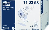 Toiletrol, Toiletpapier, Soft Mini Jumbo Toiletrol, Voor Dispenser 460006, Tork