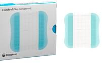 Hydrocolloidverband, Comfeel Plus, Transparant, Adhesive, Coloplast, Steriel