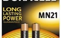Batterijen,  23A, Alkaline, MN21, Duracell