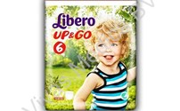 Baby Luier, Libero, Up&GO, 6, XL