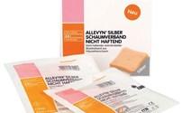 Schuimverband, Allevyn, Zilver, AG Non Adhesive, Smith en Nephew, Steriel