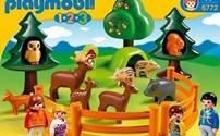 Speelgoed, Playmobil 1.2.3, Dierenpark