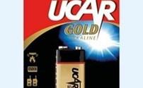 Batterijen en Accu's, Batterij, Standaard, Ucar, 9 Volt, 6LR61, blokbatterij