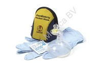 Pocket Masker, Beademingsmasker Paediatric, Hard Case, Laerdal