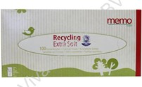 Disposables, tissues, uit gerecycled materiaal, extra zacht
