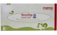 Papieren Zakdoek, Tissues, Gerecycled Materiaal, Extra Zacht