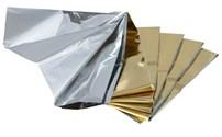 EHBO, Isoleerdeken - Reddingsdeken, Hartmann, Aluminium,  Afmeting: 160 x 210 cm