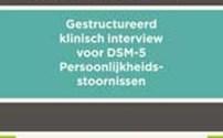 Diagnostiek, SCID-5-P: Interview