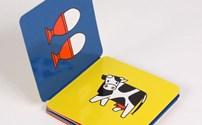 Speelgoed, Wiechen Leporello boekje van Dick Bruna, per stuk