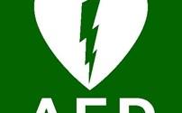 BHV Sticker, Pictogram, AED Aanwezig, LifeLine