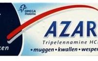 Azaron, Verlichtende Stick,  bij Insectenbeet, Omega Pharma
