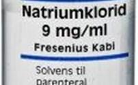 Vloeistoffen, Fresenius Kabi, NaCL 0,9 %, Ampullen