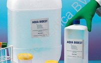 Vloeistoffen, Aqua Bidest, onsteriel, meervoudig gedestileerd water