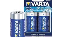 Batterijen, Varta Alkaline D, LR20, 1.5V