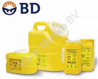 Injectie, Naaldencontainer, Becton&Dickinson, Sharps, Inhoud: 7 Ltr