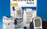 Diabetes, Glucosmeter, AccuChek Aviva, Roche, Mmol, starters pakket, per stuk