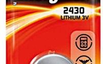 Batterijen en Accu's, Batterij, Standaard, Knoopcel, Type CR2430