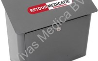 Medisch Meubilair, Medicatie retour Box, Remedibox Wand