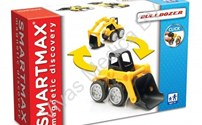 Bouwset, Smartmax, magnetic Discovery Bulldozer