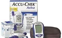 Diabetes, Glucosemeter, AccuChek Aviva Roche, Mmol, starterspakket, met chipcode 112