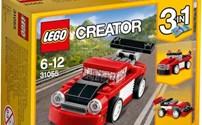 Lego creator, Rode Racewagen