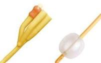 Verblijf Catheter, 3 Weg Spoelcatheter, Gesiliconiseerd Latex, Rusch