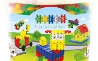 Speelgoed, Creatief, Clics emmer, Constructie blokken