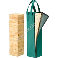 Mega jenga, Vallende toren, Philos timber
