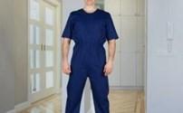 Patientenoveral, Hansop, Antischeur, Korte mouw, Lange pijp, 4Care
