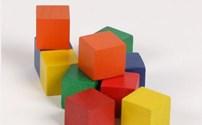 Vormenstoof, Blokkenset, Vierkant, Wiechen