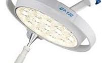 Lamp, Onderzoekslamp, Model LED 130 F, Met Verrijdbaar Statief, Dr Mach