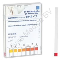 PH Teststrips, Cleartest, PH Indicator bij Maagsap