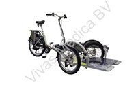 Velo Plus Basis, rolstoeltransportfietsr, Van Raam, inclusief verlichting, slot, bel en parkeerrem