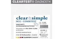 Zwangerschapstest, Clear Simple, Midstream HCG Test, 25 Stuk