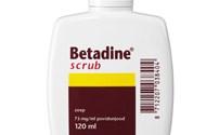 Betadine Scrub, Milde desinfecterende zeep, Bevat 75 gr Povidonjood