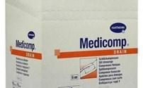 Steriel Splitgaas, Medicomp Drain, Non woven, 6 Laags, Hartmann