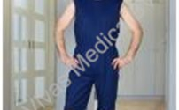Patientenoverall, Body, Mouwloos, Korte Pijp, AntiScheur, 4Care