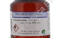 Huid Desinfectie, Chloorhexidine 0,5% in Alcohol 70%