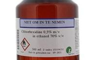 Huid Desinfectie, Chloorhexidine 0,5% in Alcohol 70%
