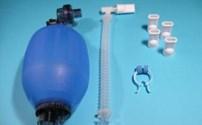 Beademingballon, Airstack, Zonder Overdrukventiel