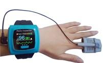 Saturatiemeter, Contec, CMS50F, Draagbaar