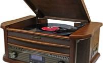 Platenspeler, Nostalgisch, Soundmaster NR545, DAB, Bleutooth