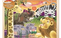 Houten Puzzel, Afrikaanse Savanne, Melissa Doug