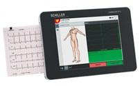 ECG Toestel, Cardiovit FT-1, Compleet Set, Bananen Stekker, Schiller