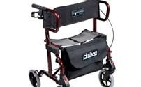 Rollator,Lichtgewicht, Diamond Deluxe, Incl Variopakket, Drive Medical (Transformeren tot Rolstoel)