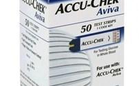 Glucose Teststrip, AccuChek Aviva, Chipcode 111, Roche, (10)