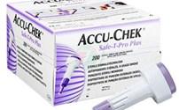 Prikpen, Veiligheidslancet, Accuchek, Safe T Pro Plus, In 3 Standen Instelbaar, Roche