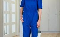 Antischeur Patienteoverall, korte mouw, Lange pijp, 4 Care
